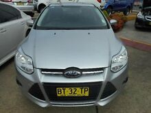 2013 Ford Focus LW MK2 Trend Silver 6 Speed Automatic Sedan Belconnen Belconnen Area Preview
