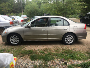 2005 Honda Civic WITH NEW MVI $3000