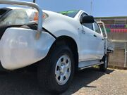 2008 Toyota Hilux GGN25R MY08 SR White 5 Speed Automatic Utility Winnellie Darwin City Preview