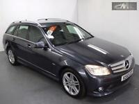 MERCEDES C CLASS C220 CDI BLUEEFFICIENCY SPORT ESTATE COMAND, Grey, Manual, Dies
