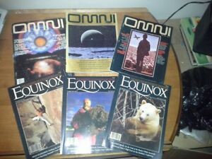 OMNI Science magazines and Equinox Nature magazines