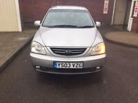 KIA CARENS DIESEL 1.9 AUTOMATIC MPV CAR , NICE CAR , AUTOMATIC , PERFECT RUNNER , MOT UNTIL MAY