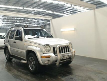 2003 Jeep Cherokee KJ Renegade (4x4) Silver 4 Speed Automatic Wagon