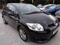 Toyota Auris 1.6 VVT-i TR Multimode 5dr Good / Bad Credit Car Finance (black) 2008