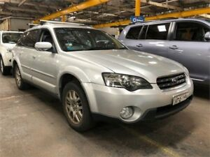 2004 Subaru Outback B4A MY04 Silver Sports Automatic Wagon