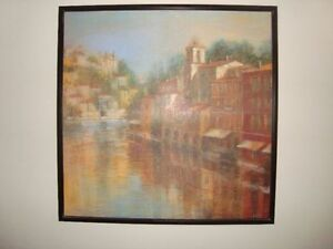 Beautifull large wall Tuscany scene picture Kitchener / Waterloo Kitchener Area image 1