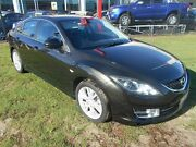 2008 Mazda 6 GH1051 Luxury Sports Black 5 Speed Sports Automatic Hatchback Kippa-ring Redcliffe Area Preview