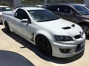 2010 Holden Special Vehicles Maloo E Series 3 R8 White 6 Speed Sports Automatic Utility Edgewater Joondalup Area Preview