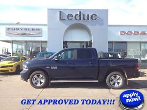 2015 Ram 1500 Sport with Leather, Navigation and Sunroof