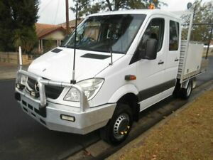 2012 Mercedes-Benz Sprinter 516 CDI 4x4 White Automatic Dual Cab Preston Darebin Area Preview