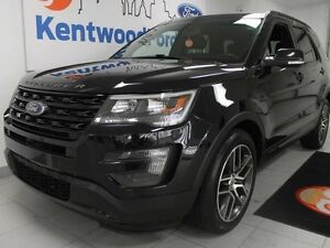 2016 Ford Explorer Sport 4WD ecoboost, leather, NAV, sunroof, ba