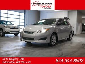 2011 Toyota Matrix All-wheel Drive Hatchback