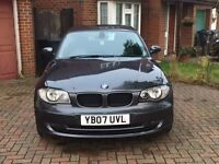 BMW 1 Series 2.0 120d SE 3dr Grey - with 12 months MOT