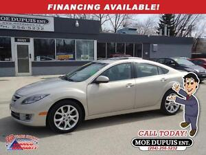 2009 Mazda Mazda6 GT,LEATHER!! SUNROOF!! LOW!!KMS!!