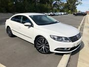 2012 Volkswagen Passat CC 3C MY12 125 TDI White 6 Speed Direct Shift Coupe Southport Gold Coast City Preview