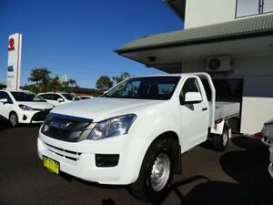 2012 Isuzu D-MAX MY12 EX White 5 Speed Manual Cab Chassis West Ballina Ballina Area Preview