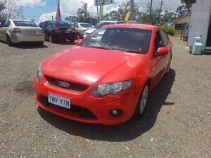2008 Ford Falcon FG XR6 Red 5 Speed Sports Automatic Sedan Lansdowne Bankstown Area Preview