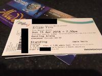 1x Arcade Fire Standing Tickets 15/04 at Birmingham Genting Arena £45