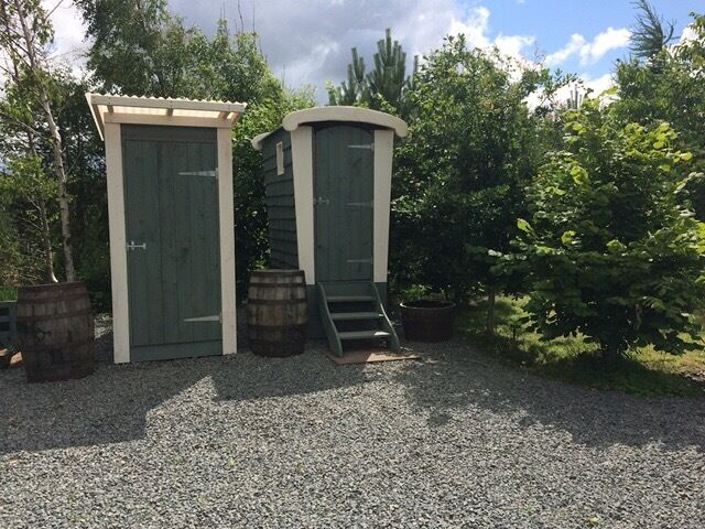 Camping Composting Toilet : Composting toilet shower ideal for campsite in berwick upon