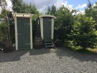 Composting Toilet & Shower Ideal for Campsite