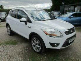 image for 2010 10 FORD KUGA 2.0 TITANIUM TDCI 2WD 5DR 19 ALLOYS CD 1/2 LEATHER SERVICE