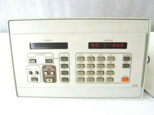 Grass Valley Group GVG Control Panel 092634-00 Digital Display w/ power supply
