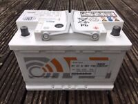 BMW genuine car battery, like new, used for 1 week