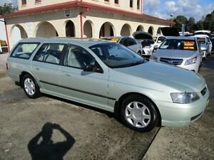 2003 Ford Falcon BA XT Ice Mint Silver 4 Speed Auto Seq Sportshift Wagon South Nowra Nowra-Bomaderry Preview