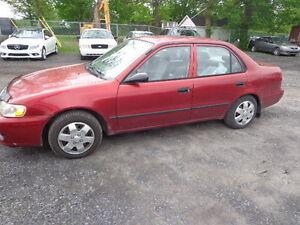 2001 Toyota Corolla  automatique