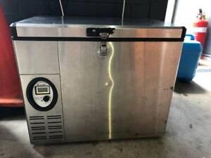 Engel Stainless Steel Fridge Freezer SS40F