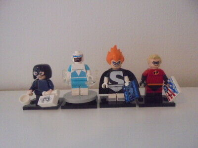 LEGO Incredibles Mr. Incredible Syndrome Frozone & Edna Mode Disney Series 1 & 2