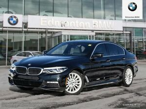 2018 BMW 5 Series xDrive w/ Navi, Massaging Seats