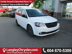 2017 Dodge Grand Caravan CVP/SXT <B>*NO ACCIDENTS*X-DEMO*LOW...