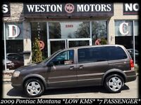 2009 Pontiac Montana SV6 *LOW KMS!*GREAT FAMILY MOVER*
