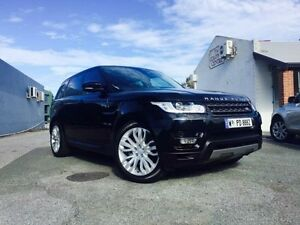 2016 Land Rover Range Rover LW MY16 Sport 3.0 TDV6 SE Santorini Black 8 Speed Automatic Wagon Beckenham Gosnells Area Preview