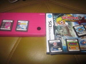 Pink DSi and Six Games