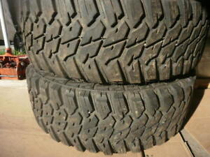 Tires, LT, Two, Mud Hog, 17 Inch. 300 $ for both,