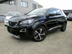 2019 Peugeot 3008 P84 MY20 Allure SUV Black 6 Speed Sports Automatic Hatchback