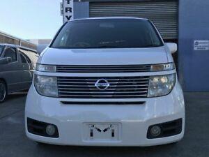 2002 Nissan Elgrand E51 HWS White 5 Speed Tiptronic Wagon