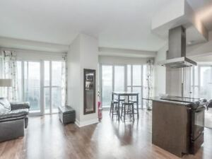 2 bed  condo in absolute towers close to square one, Call Now !