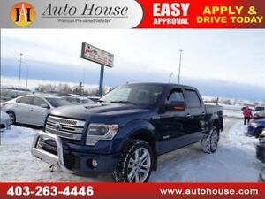 2014 Ford F150 Limited 4X4 Supercrew Leather Nav Sunroof B.Cam