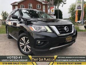 2017 Nissan Pathfinder SV|4WD|Backup|HtdSts|Alloys|LowKM|NewTire