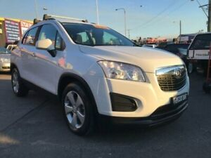 2016 Holden Trax TJ MY16 LS Active Pack White 6 Speed Automatic Wagon Cardiff Lake Macquarie Area Preview