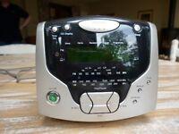 Radio, CD Player and Alarm clock