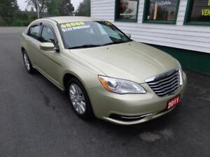 2011 Chrysler 200 LX for only $121 bi-weekly over four years!
