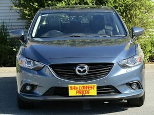 2014 Mazda 6 GJ1031 MY14 GT SKYACTIV-Drive Blue 6 Speed Sports Automatic Sedan Melrose Park Mitcham Area Preview