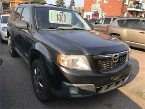 2008 MAZDA TRIBUTE SE AWD 4X4 4880$ FINANCEMENT MAISON 100% APP