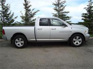 2011 RAM SLT 1500 CREWCAB SHORTBOX 4X4 5.7L 203K ONLY $13,650.