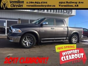 2017 Ram 1500 Limited, Sunroof, Painted Boards, NAV, Box Cover
