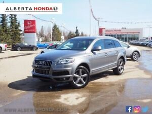 2014 Audi Q7 3.0T Sport. Low Kms. Accident Free. Fully Loaded.